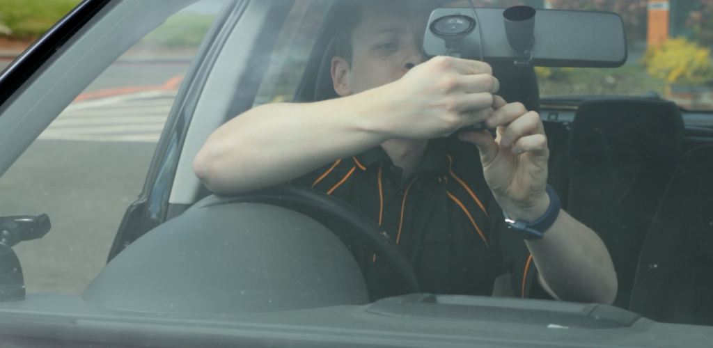 dash cam fitting at Halfords