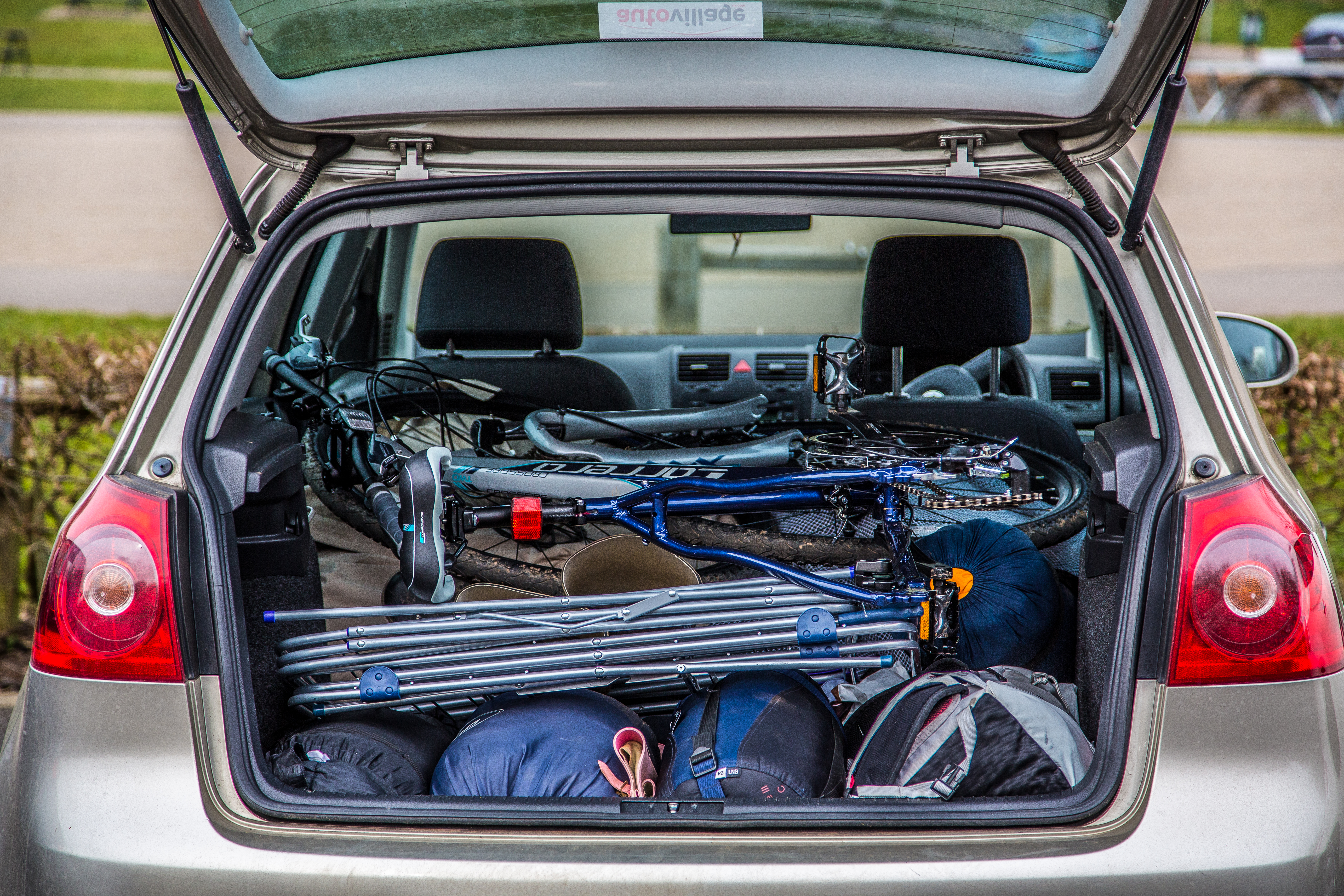 packing your car